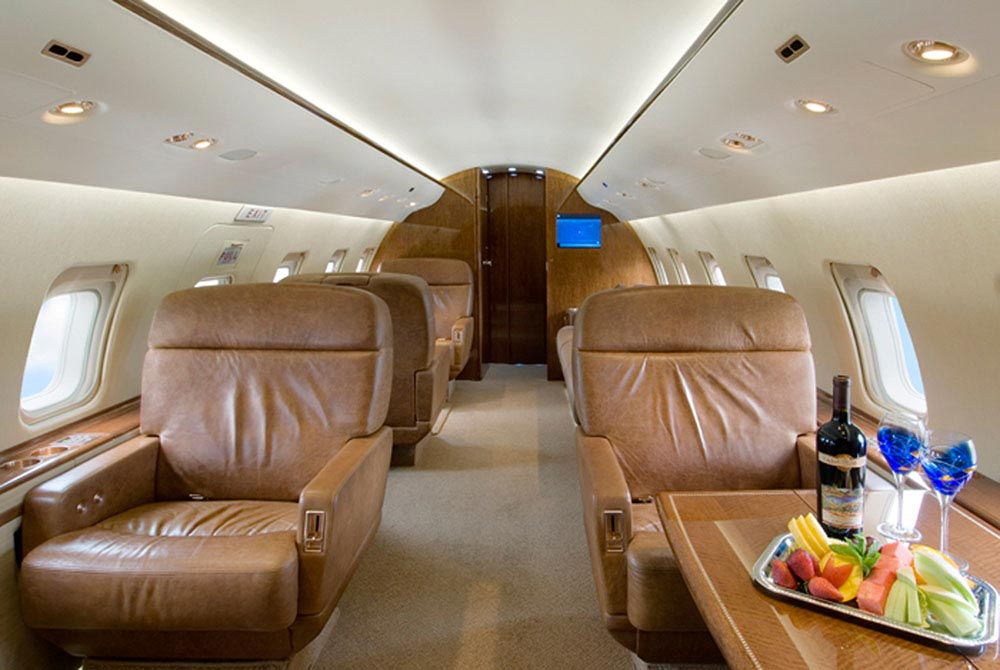 The Most Luxurious Private Jet Interior Designs  MR GOODLIFE