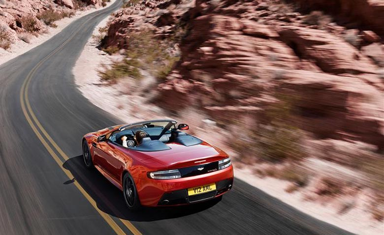 Aston Martin Introduces the 2015 V12 Vantage S Roadster 10
