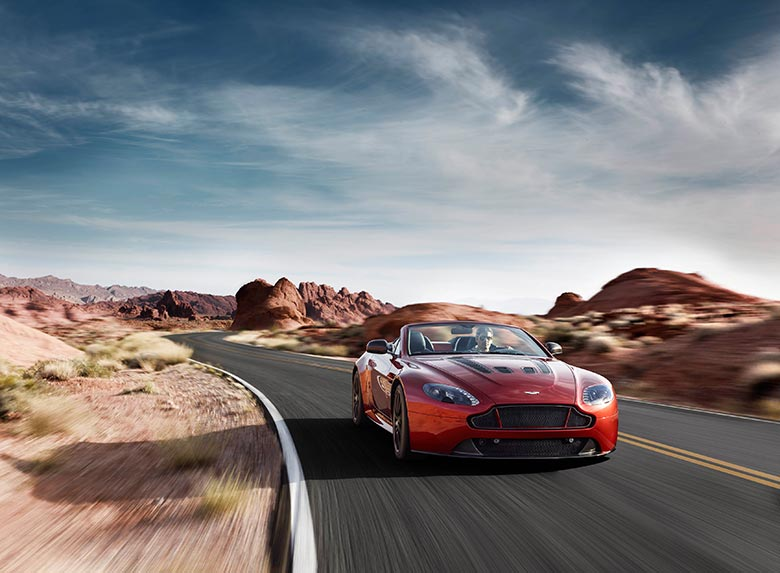 Aston Martin Introduces the 2015 V12 Vantage S Roadster 1
