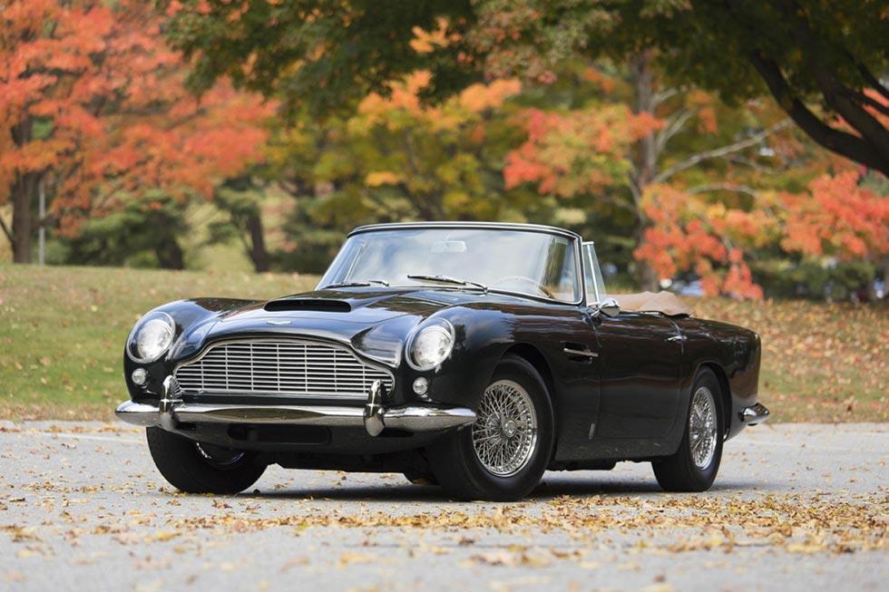 1965 Aston Martin DB5 Convertible Sold for $2 Million USD 1