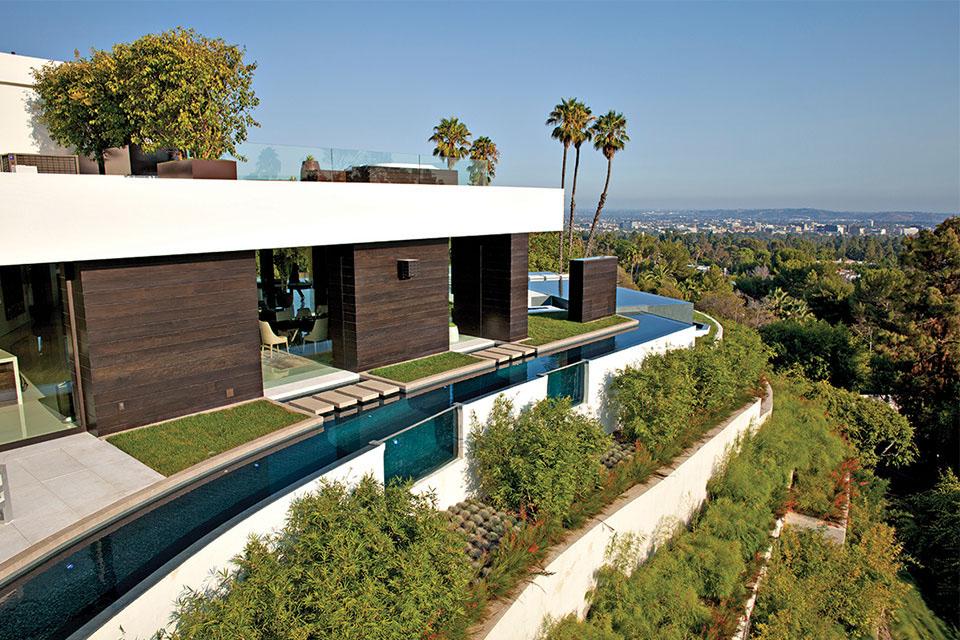 Die $36 Millionen Dollar 1201 Laurel Way Beverly Hills Residenz 2