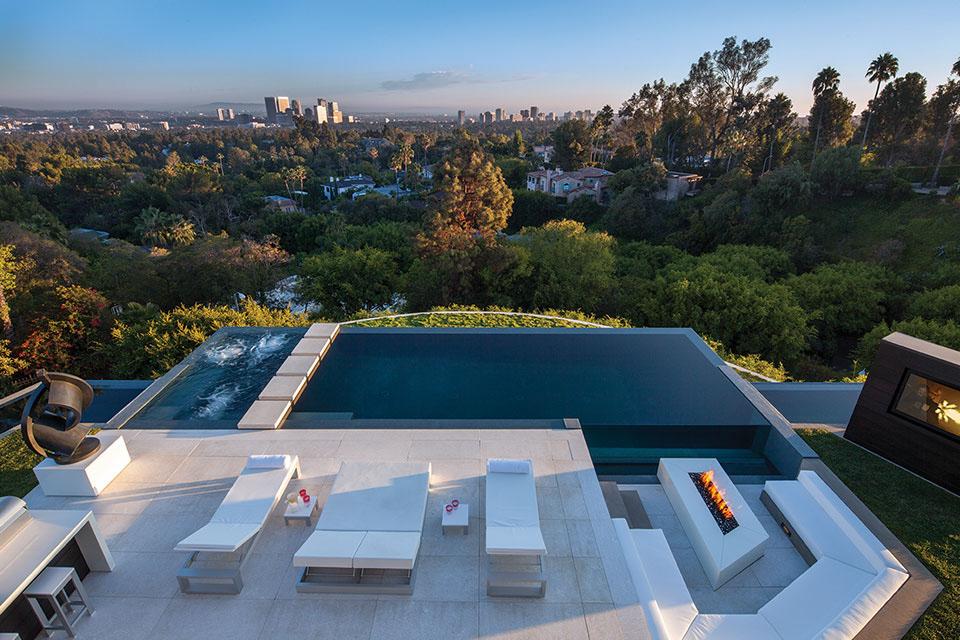 Die $36 Millionen Dollar 1201 Laurel Way Beverly Hills Residenz 3