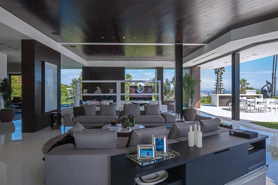 Die $36 Millionen Dollar 1201 Laurel Way Beverly Hills Residenz 4