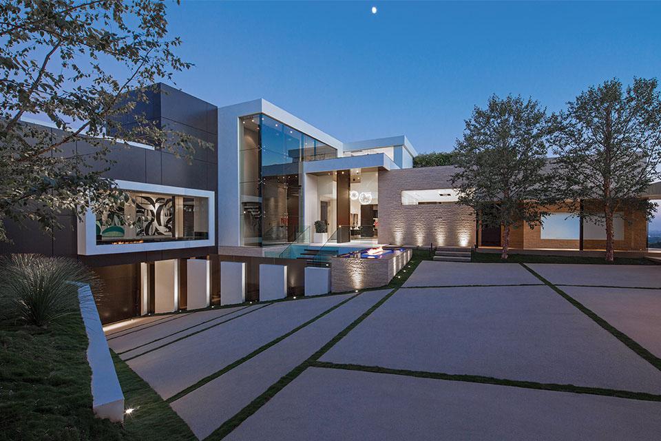 Die $36 Millionen Dollar 1201 Laurel Way Beverly Hills Residenz 12