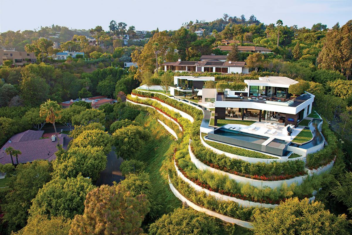 Die $36 Millionen Dollar 1201 Laurel Way Beverly Hills Residenz 1