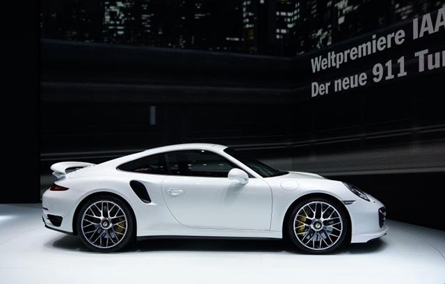 40 Years of the Porsche 911 Turbo 1