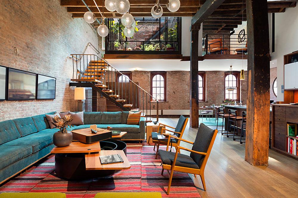 Amazing Tribeca Loft by Andrew Franz Architect 2