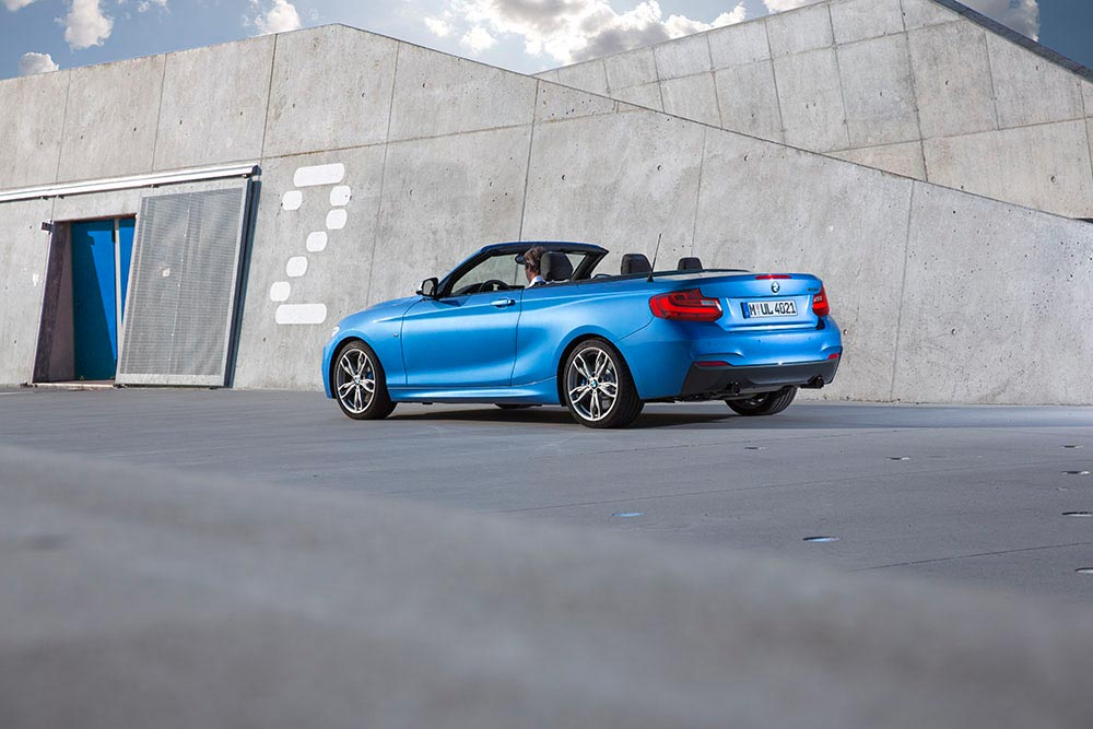The new BMW 2 Series Convertible M235i 2