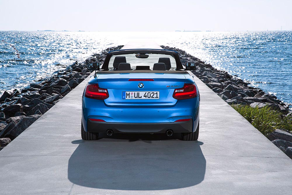 The new BMW 2 Series Convertible M235i 4
