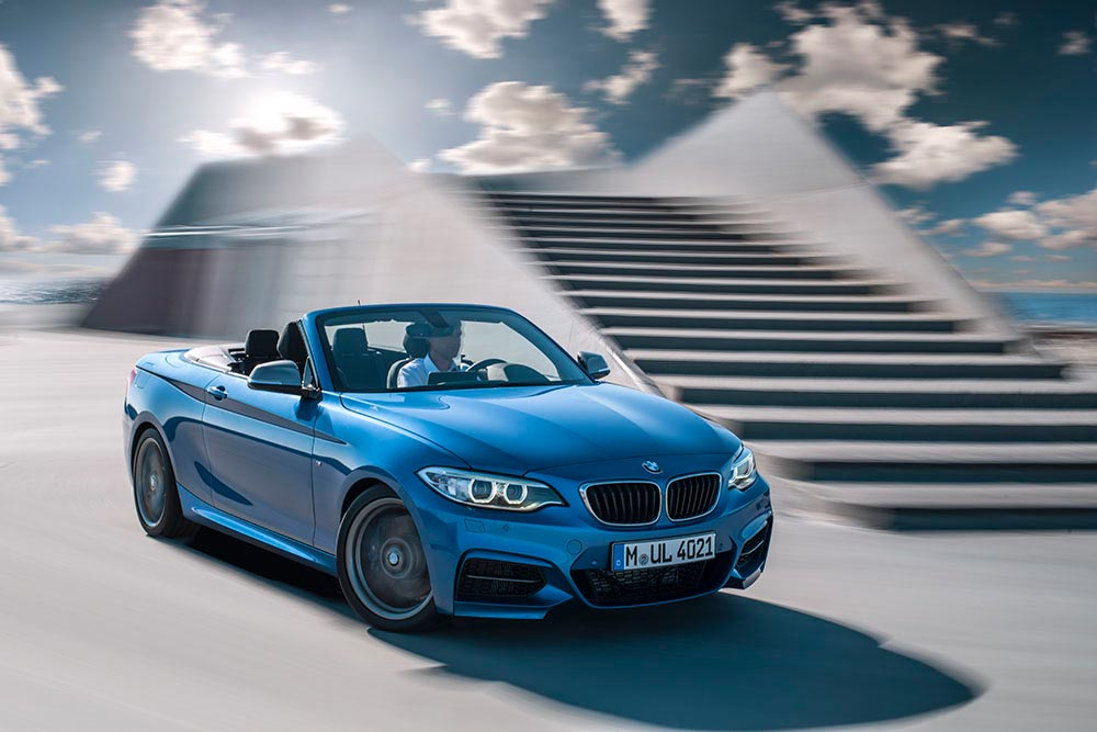 The new BMW 2 Series Convertible M235i 8