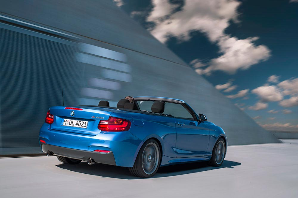 The new BMW 2 Series Convertible M235i 9
