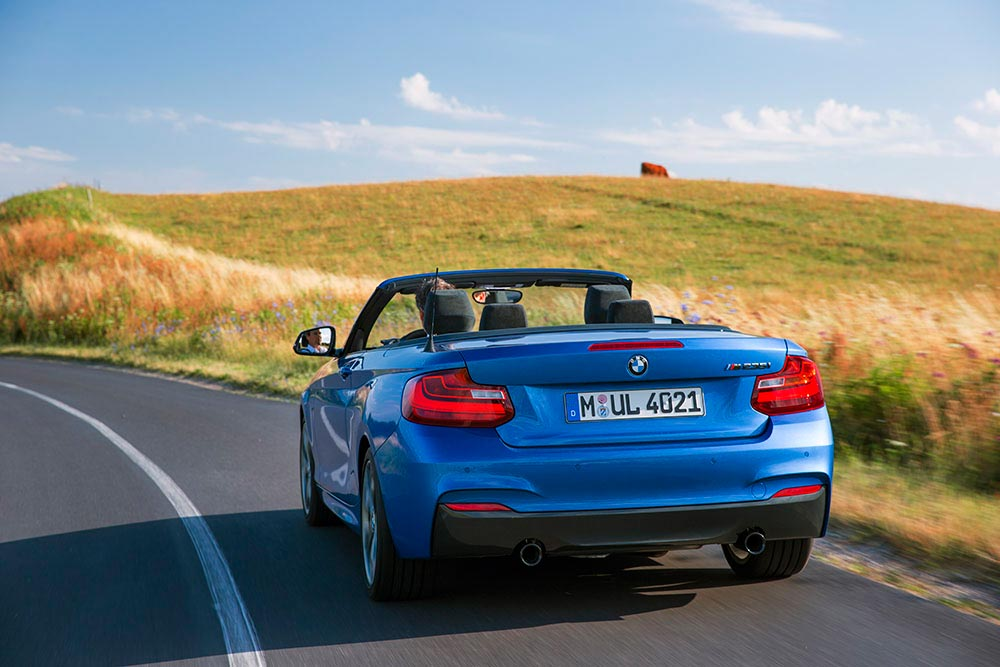 The new BMW 2 Series Convertible M235i 10