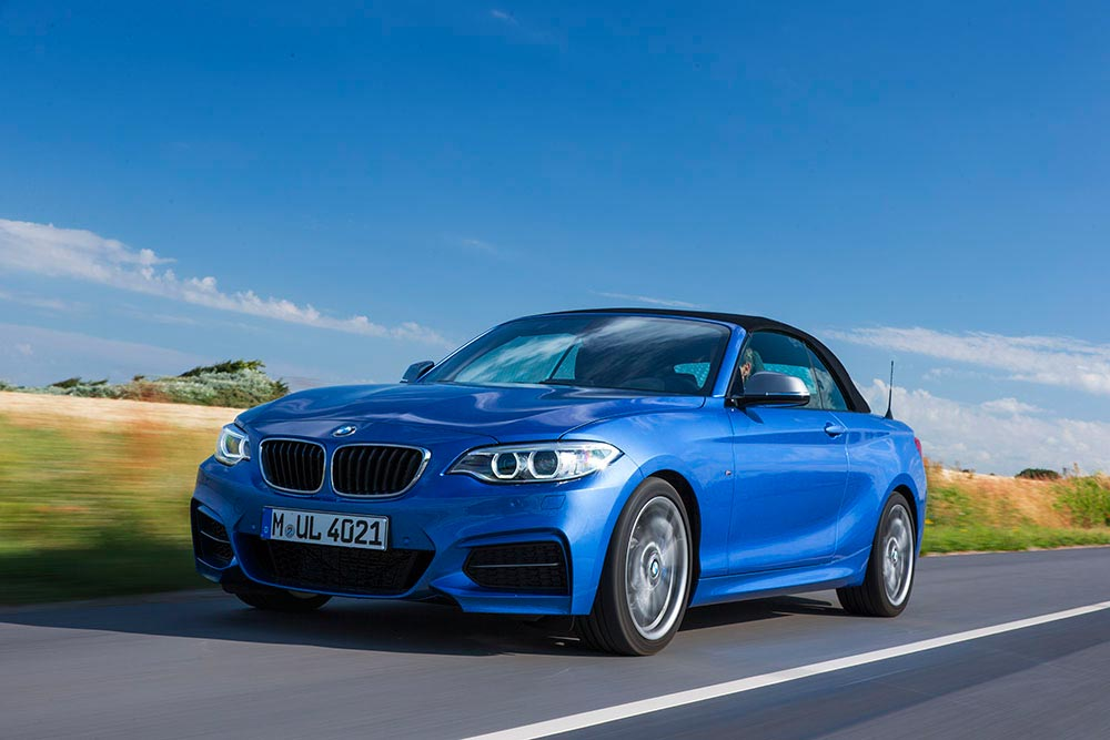 The new BMW 2 Series Convertible M235i 11