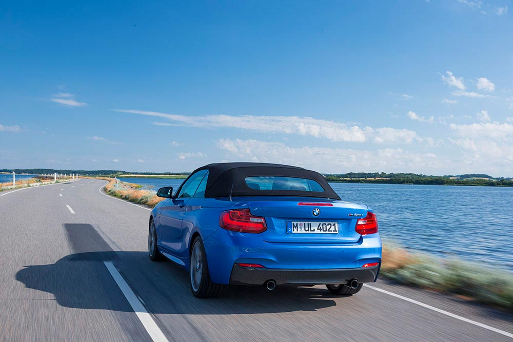 The new BMW 2 Series Convertible M235i 12