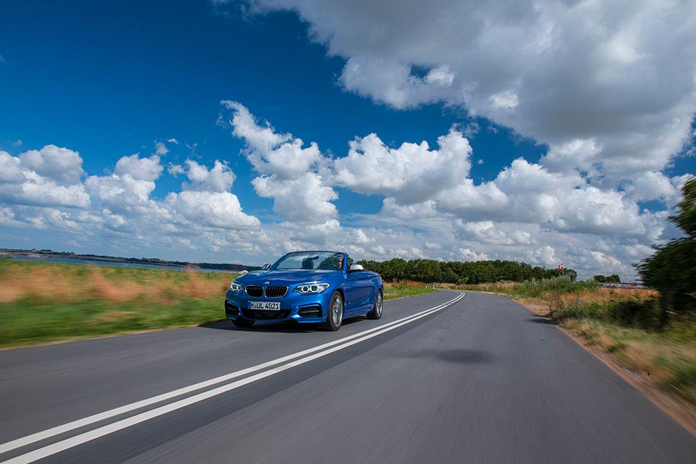 The new BMW 2 Series Convertible M235i 13