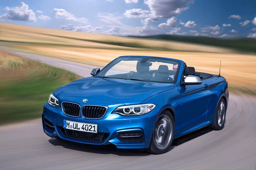 The new BMW 2 Series Convertible M235i 14