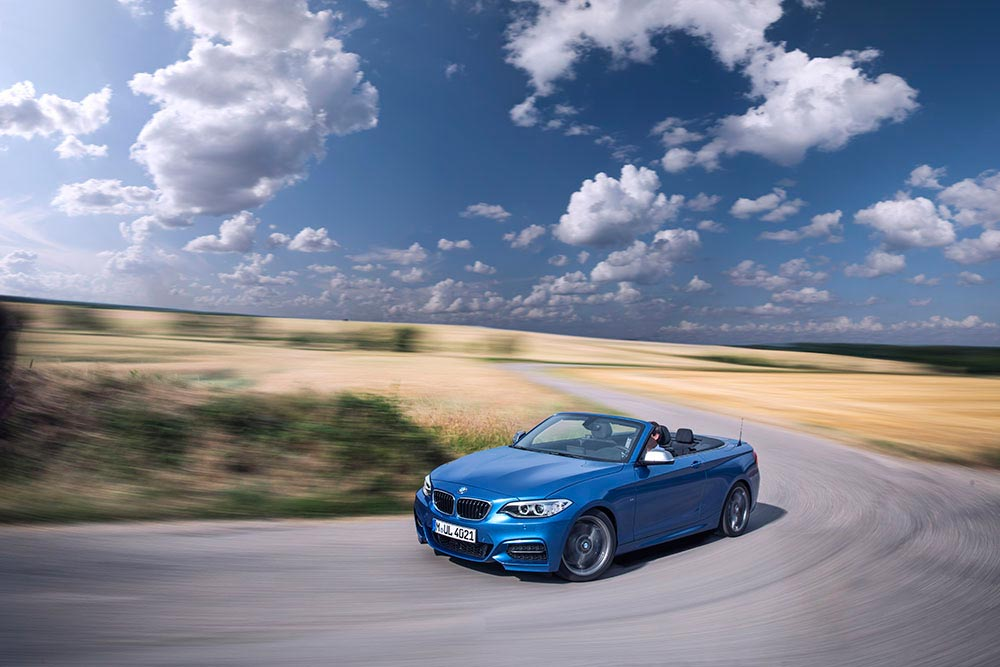The new BMW 2 Series Convertible M235i 15