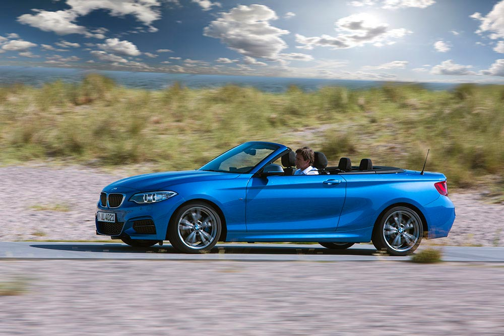 The new BMW 2 Series Convertible M235i 17