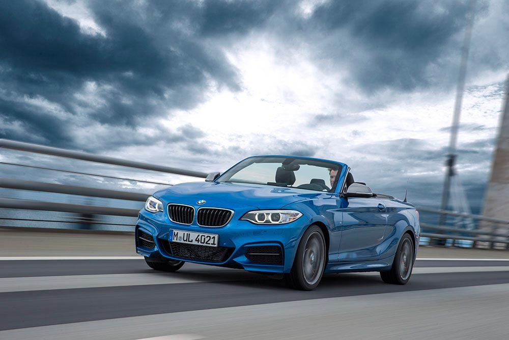 The new BMW 2 Series Convertible M235i 18