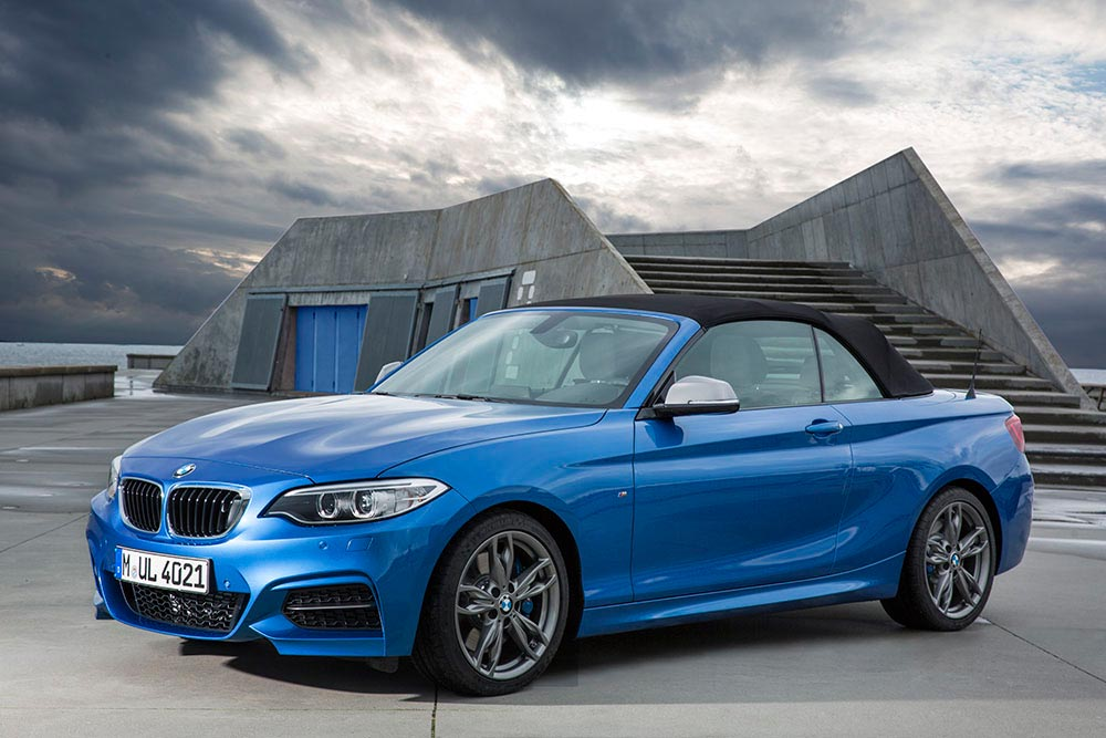 The new BMW 2 Series Convertible M235i 1
