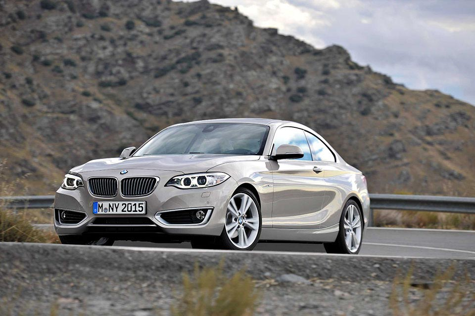 This is the New BMW 2 Series Coupe 4
