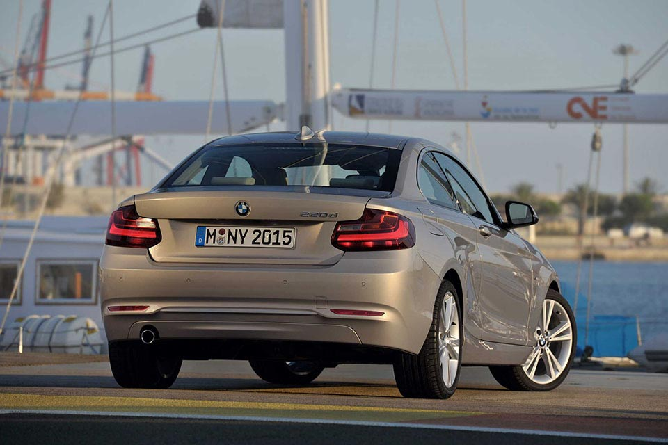 This is the New BMW 2 Series Coupe 5