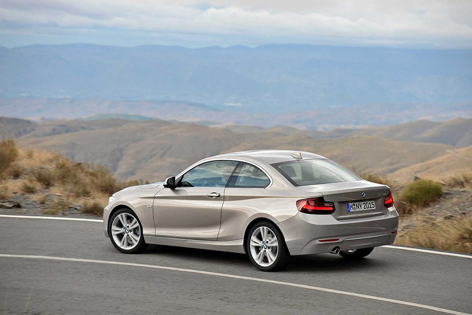 This is the New BMW 2 Series Coupe 1