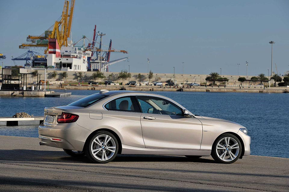 This is the New BMW 2 Series Coupe 2