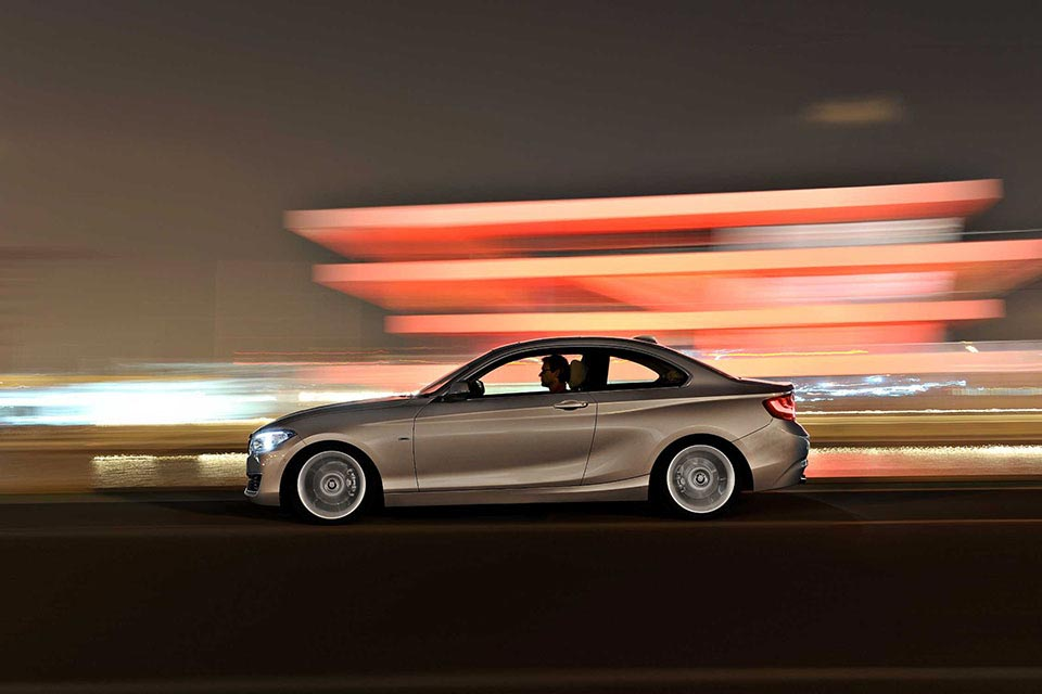 This is the New BMW 2 Series Coupe 3
