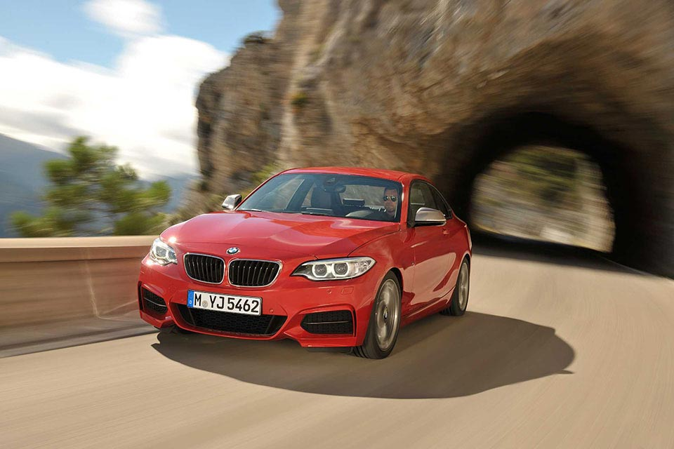 This is the New BMW 2 Series Coupe 6