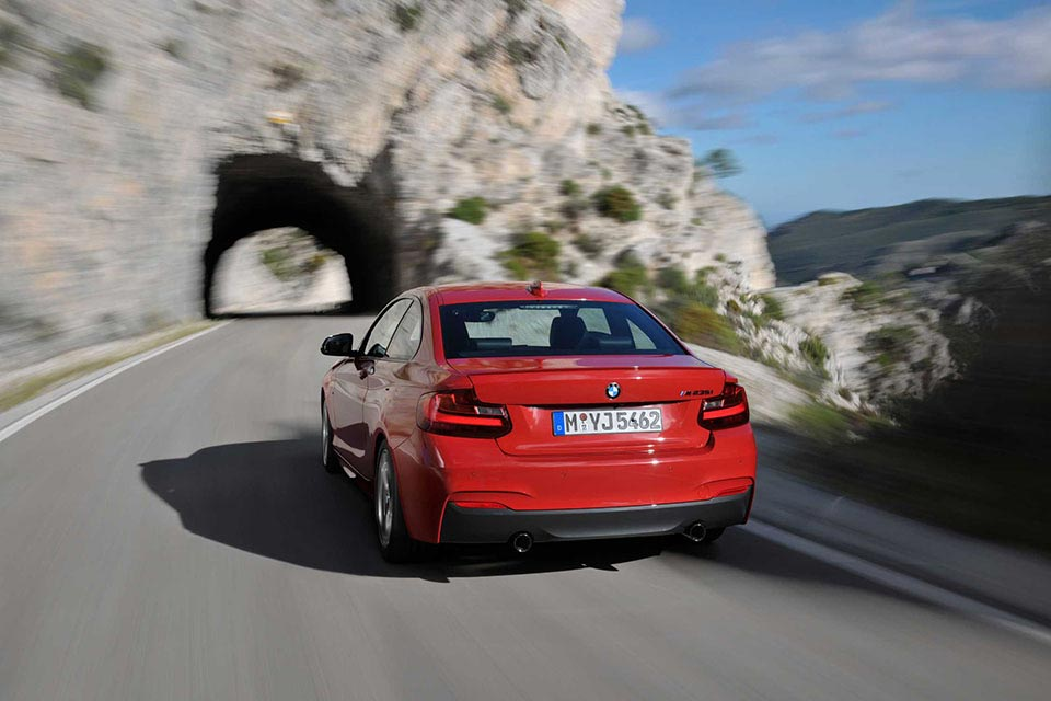 This is the New BMW 2 Series Coupe 7