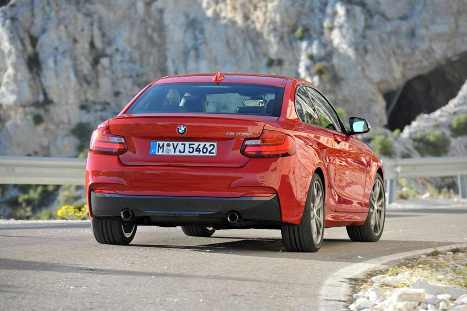 This is the New BMW 2 Series Coupe 8
