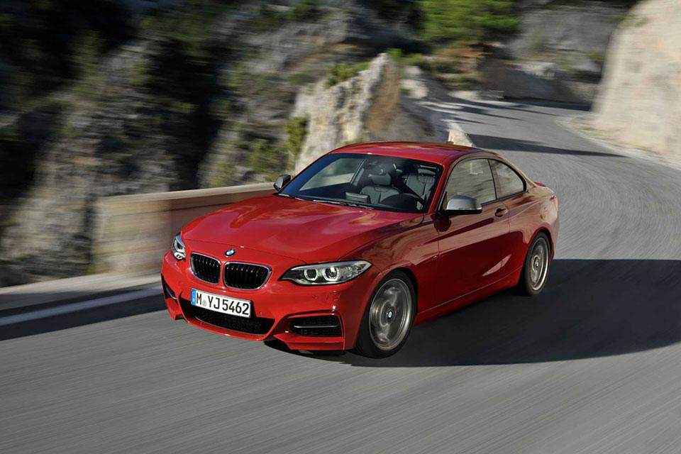 This is the New BMW 2 Series Coupe 9