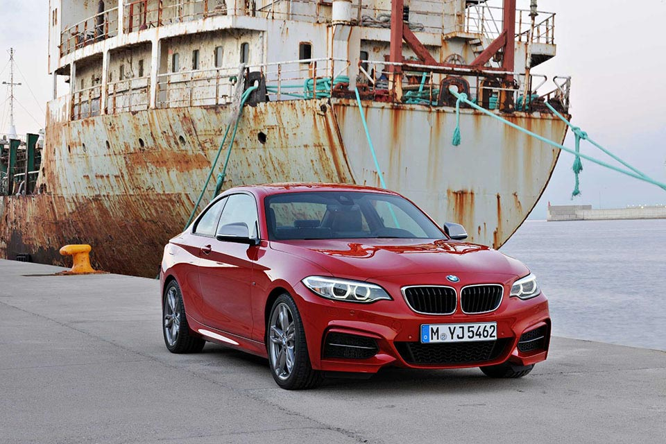 This is the New BMW 2 Series Coupe 10