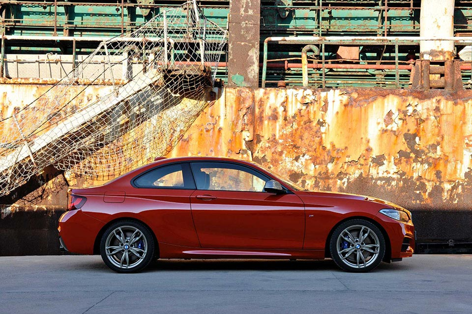 This is the New BMW 2 Series Coupe 11