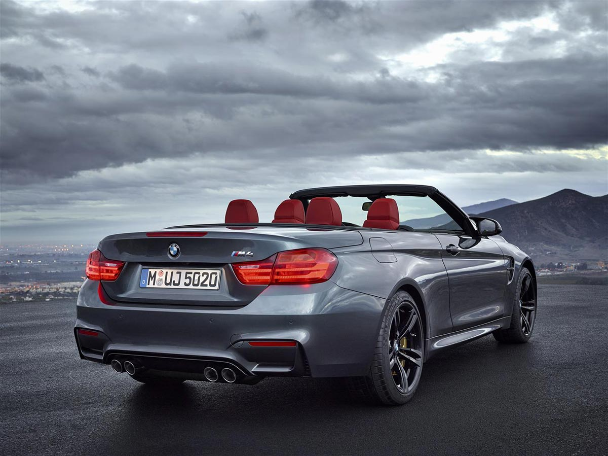 BMW enthüllt das neue M4 Cabrio 15