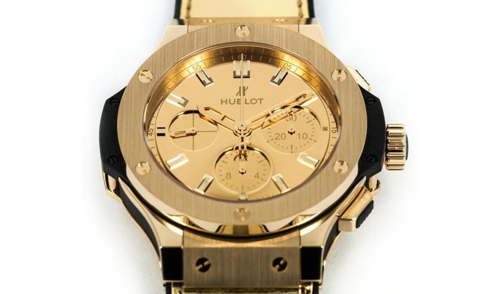 Hublot zeigt eine $41K Gold Monochrome Uhr
