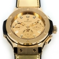 Hublot unveils $41K Gold Monochrome Watch