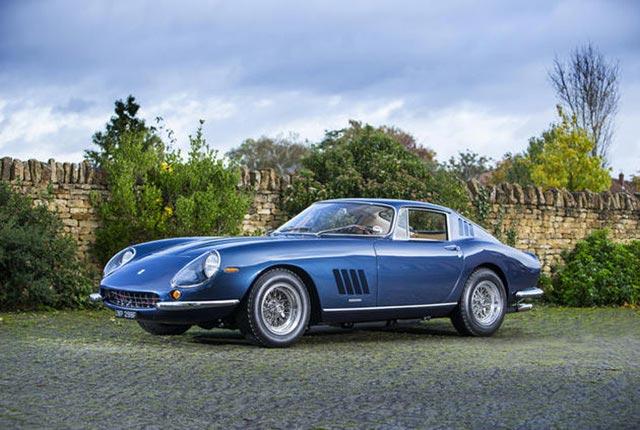 World Auction Record Achieved For Ferrari 275GTB/4 Berlinetta 2