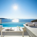 The luxurious Cavo Tagoo in Mykonos