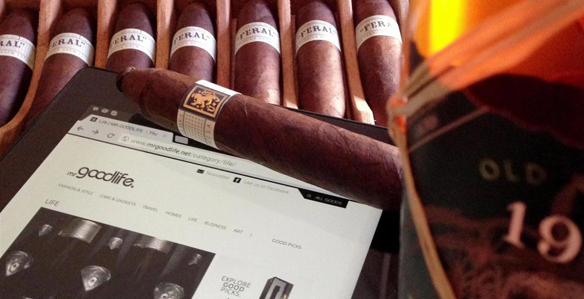 Cigar Pleasure: Stylish Delight with Noblego