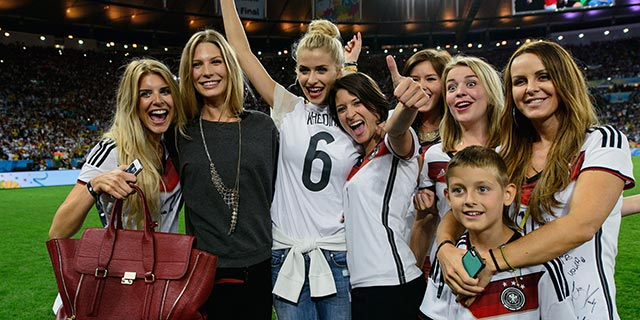 Congrats to Germany for having the hottest Girlfriends at the World Cup 1