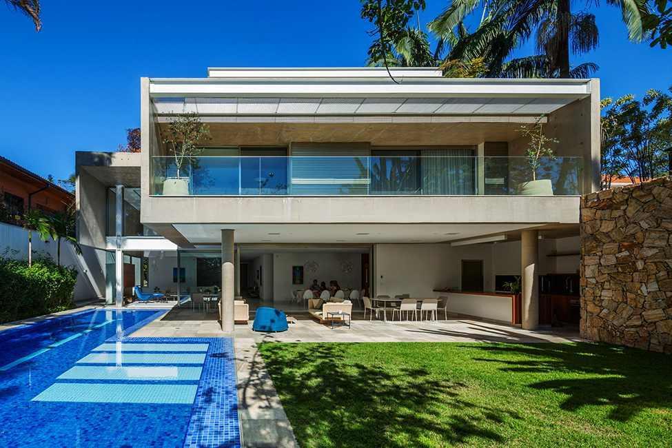 Die moderne MG Residence von Reinach Mendonça Arquitetos Associados 13