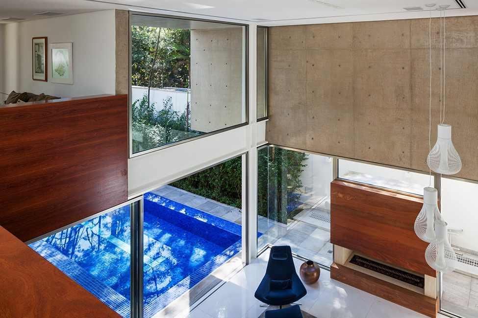 Die moderne MG Residence von Reinach Mendonça Arquitetos Associados 3