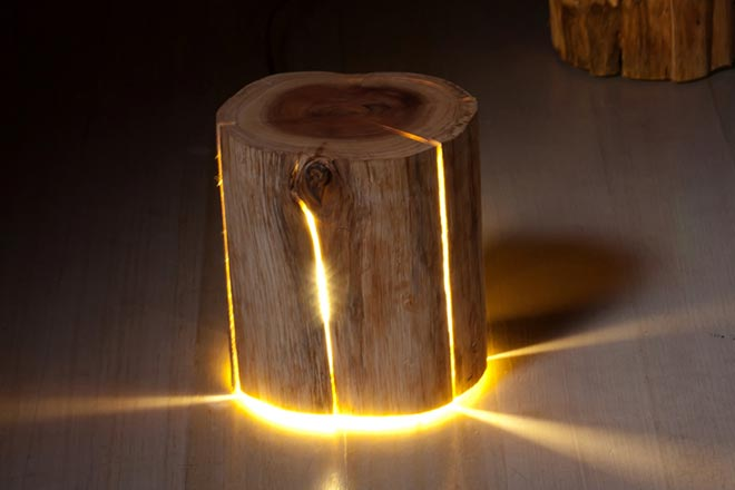 Cracked Stump Lamp x Duncan Meerding 3