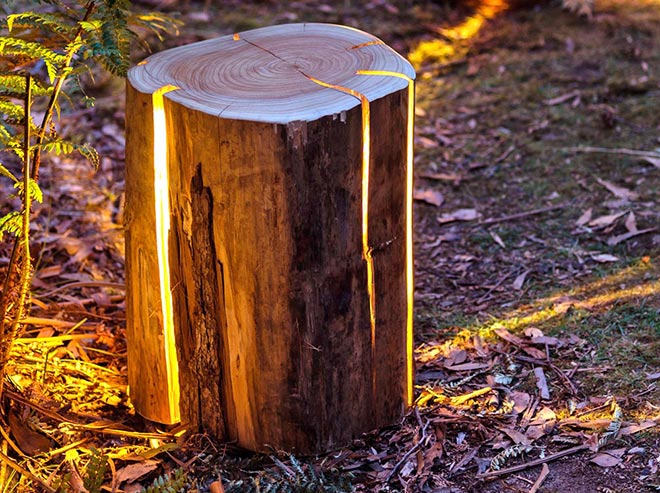 Cracked Stump Lamp x Duncan Meerding 6