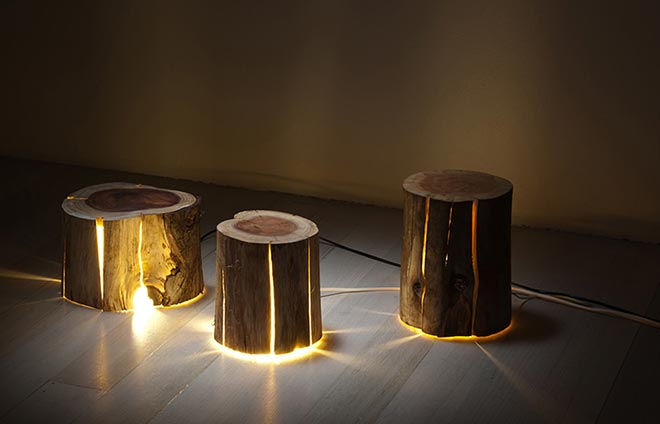 Cracked Stump Lamp x Duncan Meerding 7