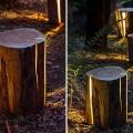 Cracked Stump Lamp x Duncan Meerding