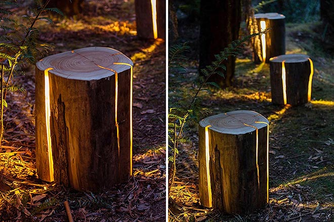 Cracked Stump Lamp x Duncan Meerding 1