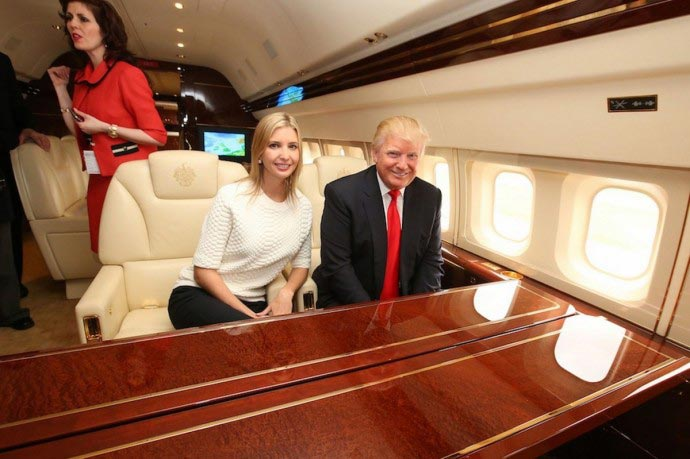 Inside Donald Trump's $100 Million Custom-Built Private Jet 2